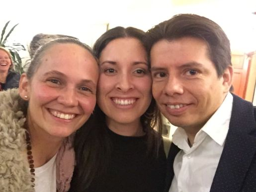Ana María, Liliana y César David